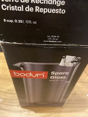 Bodum Spare Glass Cafetiere Replacement Boxed 8 Cup 34oz Uk P/p Inc • 11£