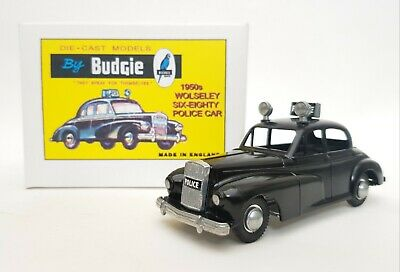 £21.75 • Buy Wolseley 6/80 Police Car 1:43 Scale By Budgie Diecast Models No. 246 MIB