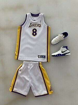"""$150 • Buy New  1/6 Custom Kobe Bryant #8 Jersey And Shoes """"81 Points Game"""" For ENTERBAY"""
