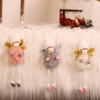 3 X Mantelpiece Plush Doll Fairy Angel Hanging Ornament Home Children Room Decor • 10.99£