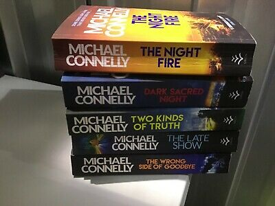 """Connelly, Michael : """"Harry Bosch"""" Set Paperback X 5  • 11.99£"""
