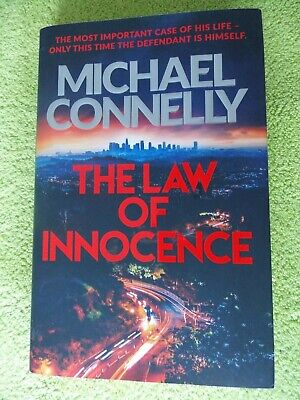 MICHAEL CONNELLY The Law Of Innocence -His 2020 Mickey Haller Hardback Thriller. • 4.20£