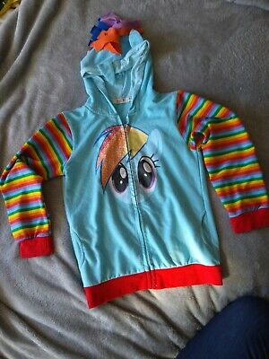 My Little Pony Coat/hoodie 7-8 Years • 2.50£