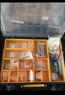 Jewellery Making Bits, Swarovski Beads, Perls, Genuine Silver Findings And Tools • 40£