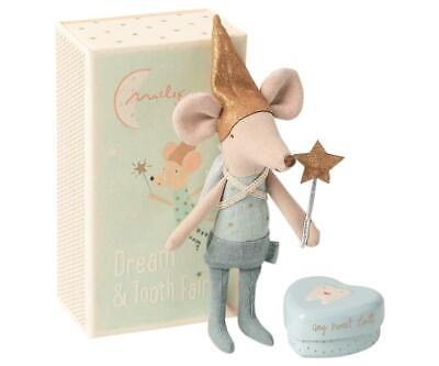 Maileg Tooth Fairy Big Brother Mouse In Matchbox Box Gift Present Mice Brand New • 22£