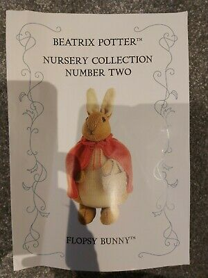 Alan Dart Beatrix Potter Flopsy Bunny Toy Knitting Pattern  • 7£