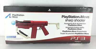Sony Playstation Move Sharpshooter Gun | Playstation PS3 / PS4 Complete + Boxed  • 38.95£