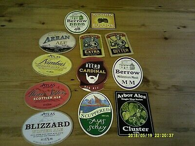 12 Interesting Beer Pump Clips Listed Adnams Berrow And Atles • 2£
