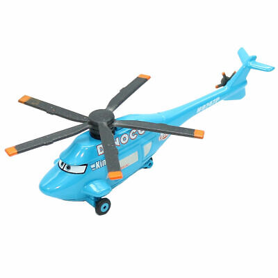 Disney Pixar Cars Dinoco Helicopter Metal Diecast Toy Model Planes Loose Gift • 0.01£