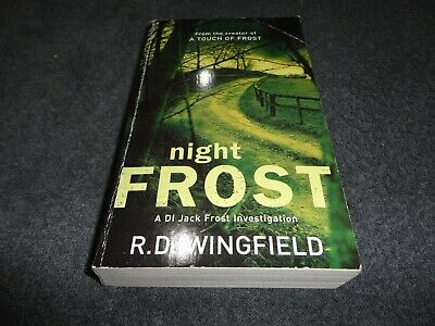 £10.90 • Buy Night Frost By R.d. Wingfield  # Small Pb Book #