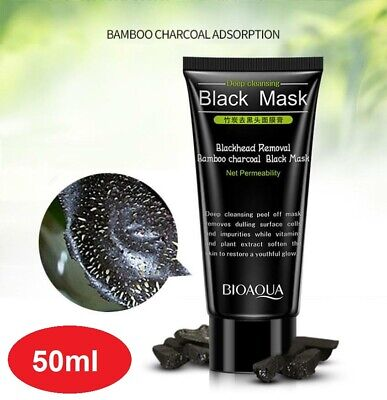 AU9.90 • Buy Peel Off Face Mask Blackhead Acne Remover Deep Cleansing Exfoliating 50ml NEW AU