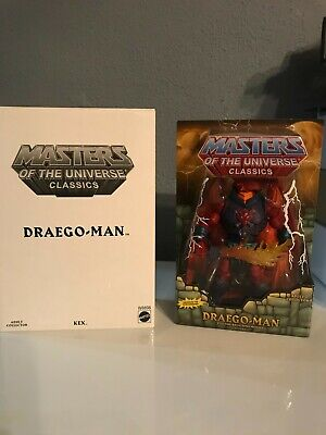 $200 • Buy Masters Of The Universe Classics Draego-man 30th Anniversary Exclusive New