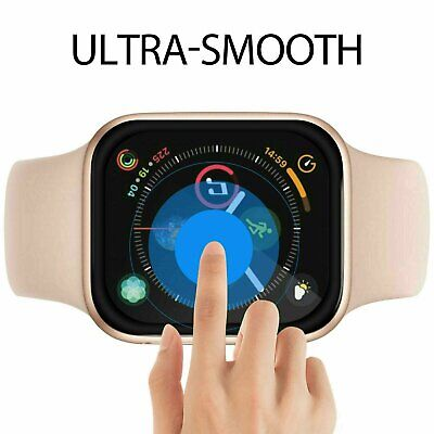 $ CDN2.45 • Buy 3D Coverage Screen Protector Cover For Apple Watch Series 2 3 4 5 6 SE IWatch