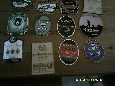 12 Interesting Beer Pump Clips Including Dwan And Rare Dartmouth Brewery • 2£
