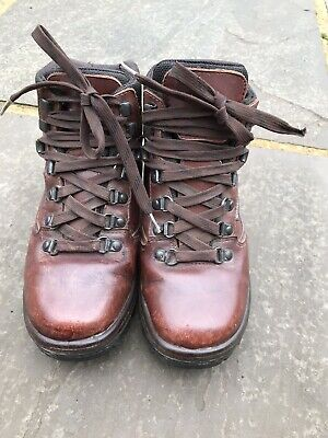 Ladies Berghaus Leather Walking Boots Size UK4 Pre Owned • 25£