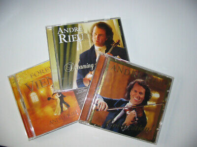Andre Rieu, 3 CD And DVD. 'Dreaming', 'Forever Vienna' Incl. DVD & 'Celebration' • 1.30£