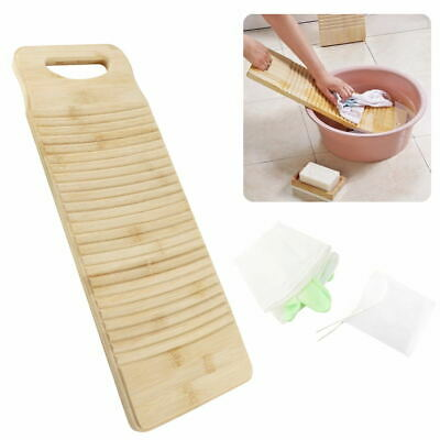 £10.93 • Buy Wooden Washboard Thicken Wood Washing Board Wash Home Laundry Clothes 50CM