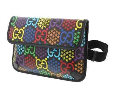 AU943.63 • Buy Gucci GG Psychedelic Belt Bag 598113 HPUDN 1058