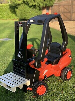 BIG Linde Toy Pedal Forklift Children's Ride-on Toy 3+ (RRP £270) • 43£