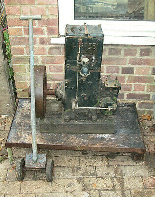Vintage Lister D309 Stationary Engine With Trolley Spec 28dh Barn Find  • 50£