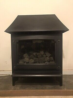 Gazco/Stovax Malborough Medium Natural Gas Fire Coal Stove 6.6kW RRP £1669 • 399£