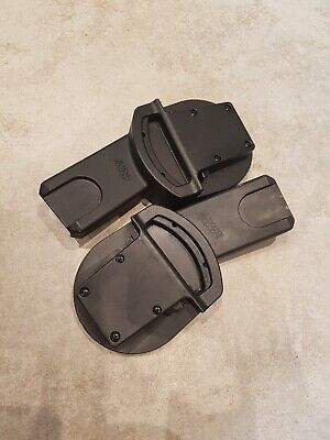 Cybex Cloud Q Aton Car Seat Adaptors For Mama And Papas Zoom Urbo Sola Pushchair • 12£