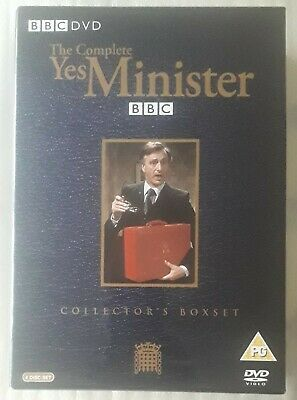 Yes Minister - Series1-3 - Complete (DVD, 2004) Collector's Box Set 4 Discs • 1.99£