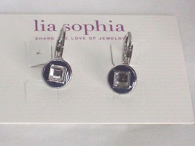 $ CDN1.28 • Buy Adorable Lia Sophia SHUTTER Earrings, NWT