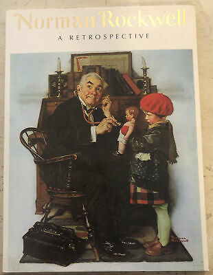 $ CDN6 • Buy Used Book ~ Norman Rockwell A Retrospective 1985