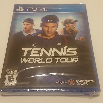 AU26.33 • Buy Tennis World Tour - PS4 (Sony PlayStation 4) Brand New Sealed  Maximum Games