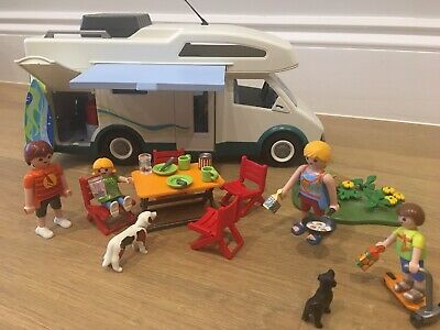 Playmobil Summer Fun Camper Van - In Excellent Used Condition With Original Box  • 8£