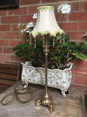 Gorgeous Vintage Refurbished French Rococo   Lamp • 45£