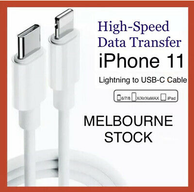 AU4.99 • Buy LIGHTNING To USB-C Sync Data Cord Cable IPhone 11 X Certified MFI ~ MELB STOCK