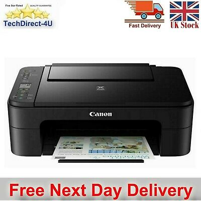 Canon PIXMA TS3150 All-In-One Inkjet Printer Home Office Printer Inks Included • 64.99£