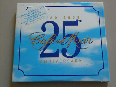 £6.32 • Buy CAFE DEL MAR 25th ANNIVERSARY By VARIOUS ARTISTS 3 CD's 2005 Cafe Del Mar GREAT