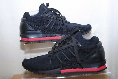 ADIDAS Y-3 HARIGANE Mens Black & Red Trainers Uk Size 11 • 14.50£
