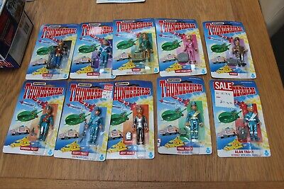 Job Lot Matchbox 10 Different THUNDERBIRDS Figures 1993 Factory Sealed • 25.59£
