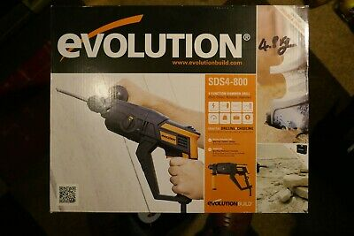 Brand New In Box - Evolution SDS4800 - 4 Function SDS Drill   230v • 39£