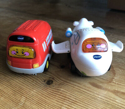 VTech Toot Toot Vehichles Bus & Airplane  • 3.50£