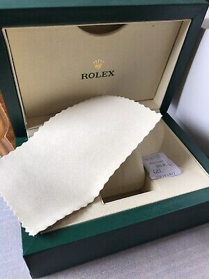 $ CDN167.38 • Buy ♕ NEW Rolex Luxury Watch Box, Outer Case, Sleeve And Duster. Suisse. PERFECT