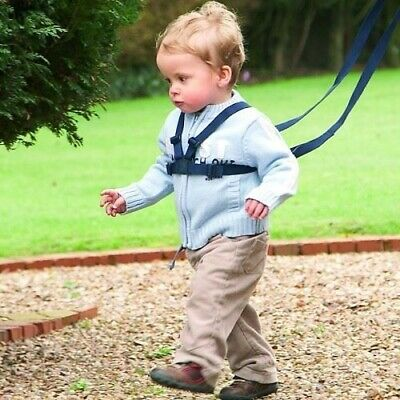 Walking Harness And Reins - Black - Safe Walking For Toddlers And Little Explore • 21.56£