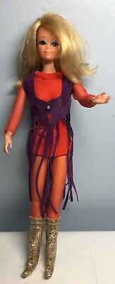 $ CDN64.88 • Buy Vintage Barbie Live Action PJ Doll In Original Outfit Mod Era