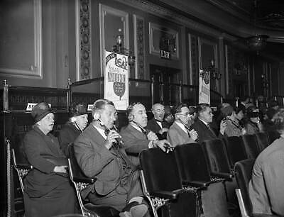 Interior Of A Cinema With Special Seats With Earphones 1931 OLD PHOTO • 6.75£