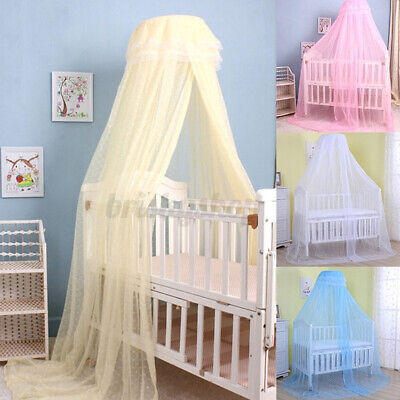 £9.47 • Buy Baby Kids Mosquito Net Bed Canopy Netting Curtain Lace Dome Fly Insect Protect