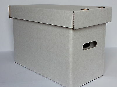 £29.99 • Buy 5 X MAGAZINE AND CGC COMIC SIZE STORAGE BOXES AND LIDS.