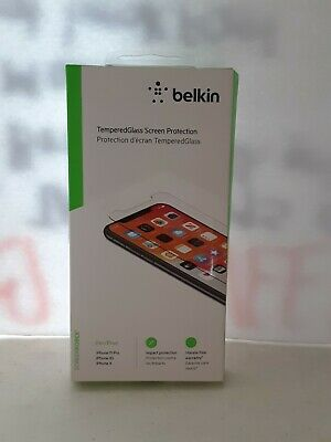 AU12.50 • Buy Belkin Temperglass Screen Protector For Iphone 11 Pro Xs X  Free Ship