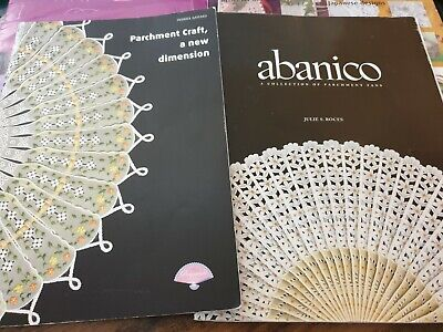 Bundle Parchment Pergamano Books And Magazines Abanico Parchment World Etc • 5.19£