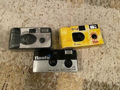 3 Disposable Cameras Ideal For Weddings And Celebrations • 30£