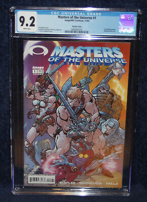 $250 • Buy Masters Of The Universe #1 W/ Invincible Preview - Image/MV 2002 * CGC 9.2 *