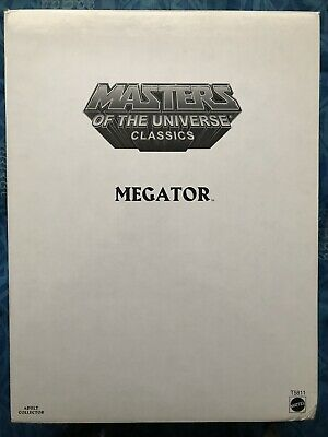 "$48 • Buy Masters Of The Universe Classics: Megator 12"" Figure W Mailer By Mattel"